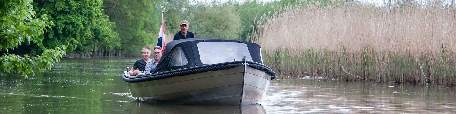 Boot huren in de Biesbosch