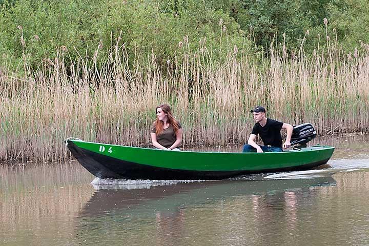 Motorboot huren Biesbosch